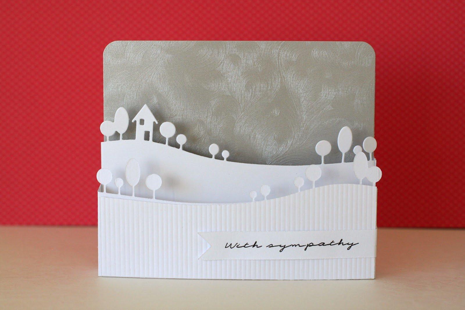 3D Weihnachtskarte - wie schaffen Sie dieses Ergebnis?