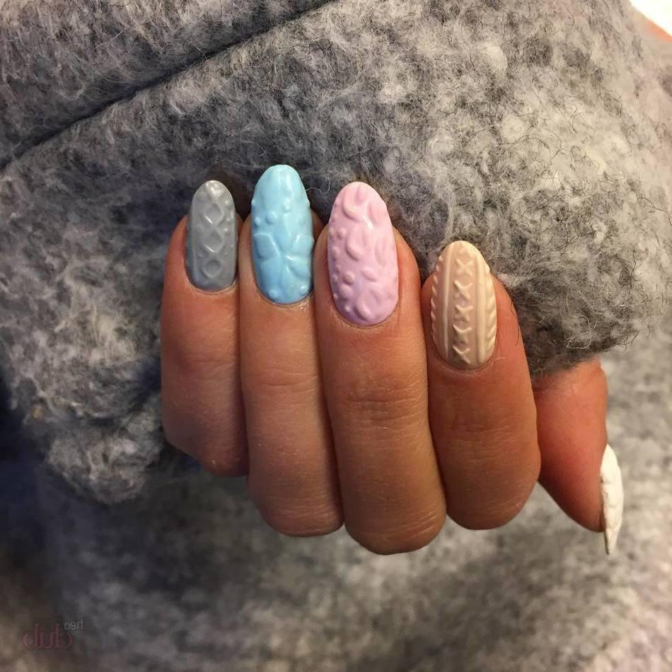 Acryl-Muster sind sehr trendy