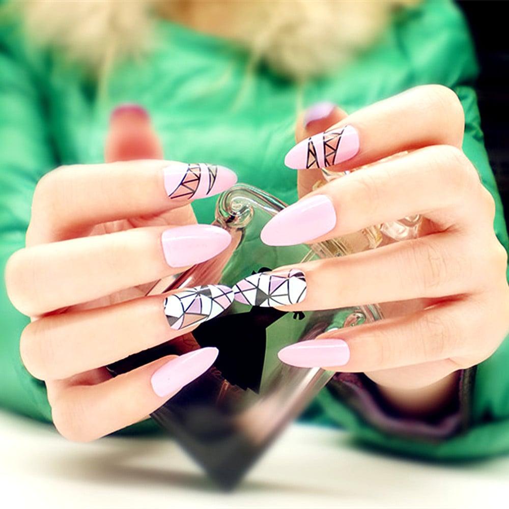 Acryl Nägel - clevere Lösung für brüchige Nägel - Nageldesign - ZENIDEEN