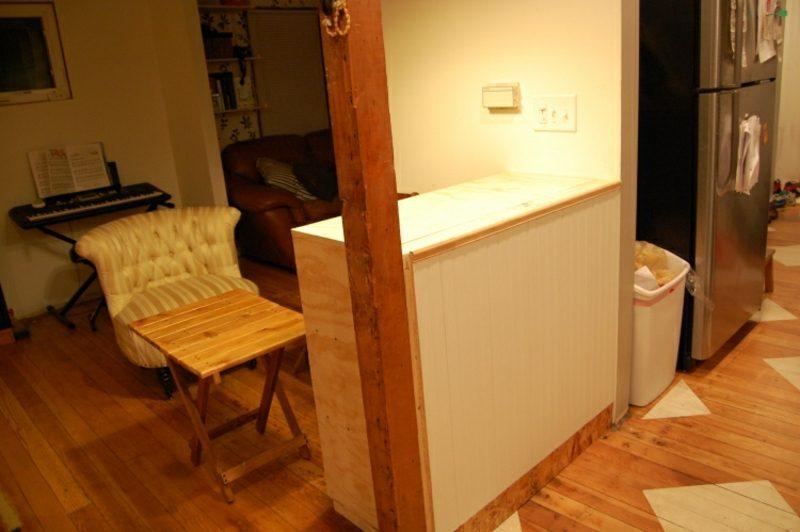 Küchen Ideen Theke selber bauen
