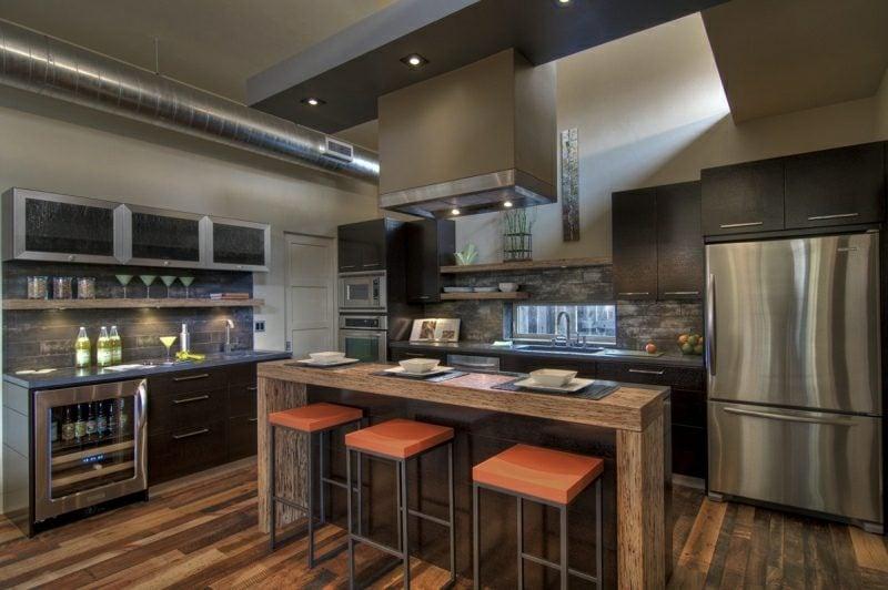 Theke bauen gemauerte Küche