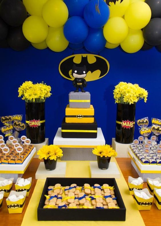 Batman-Party-Thema
