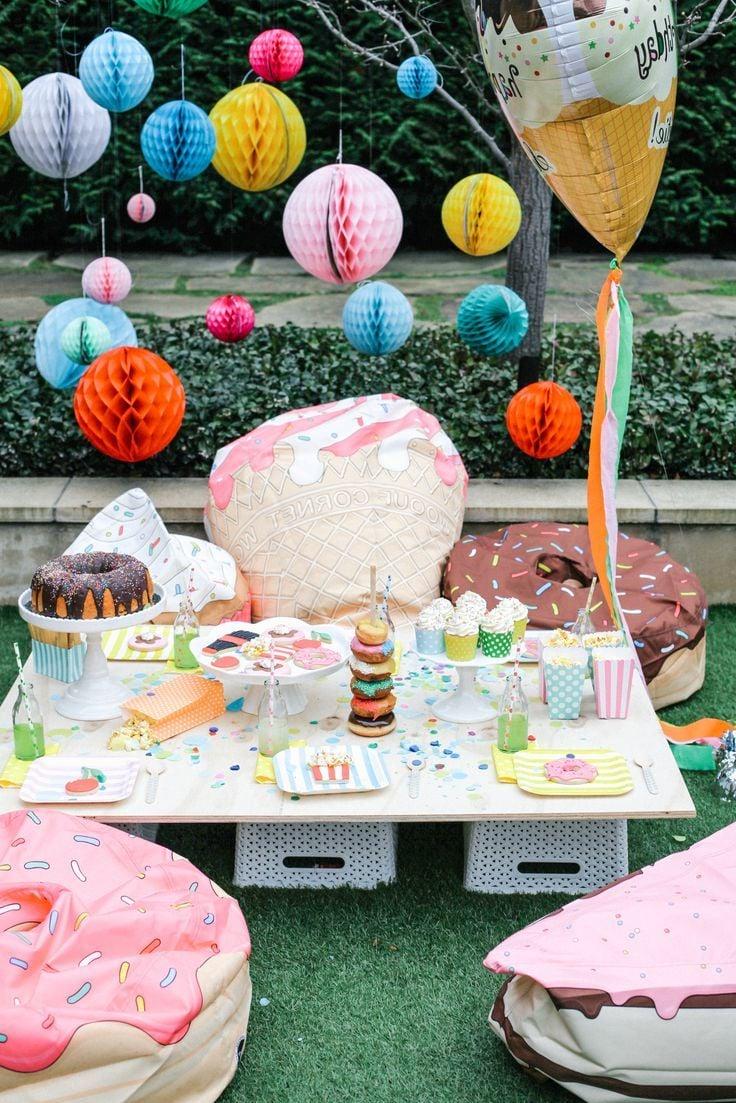 Eine süße Party
