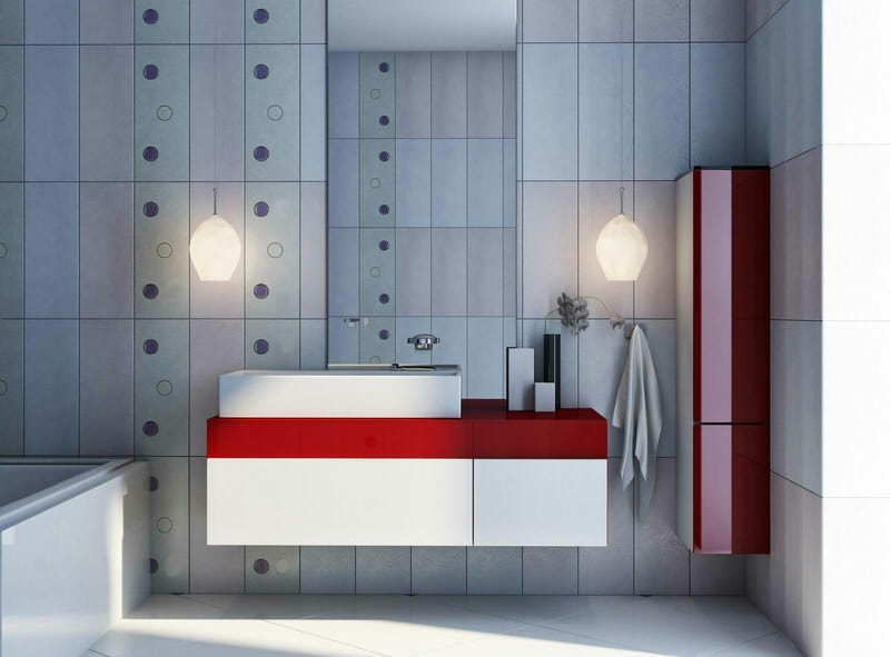 Fliesen Badezimmer renovieren moderne Ideen