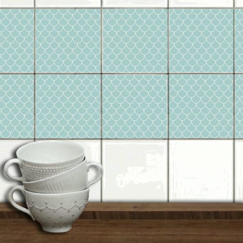 Wandfliesen Küche überkleben Eindrucksvolle Ideen