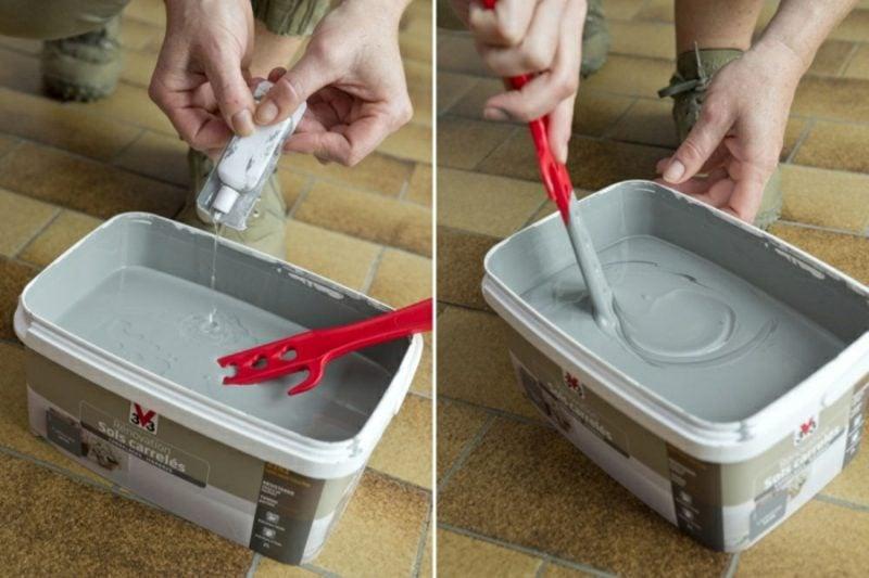 Küchenfliesen streichen wie geht es