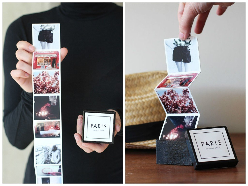 Fotoalbum Paris zum falten