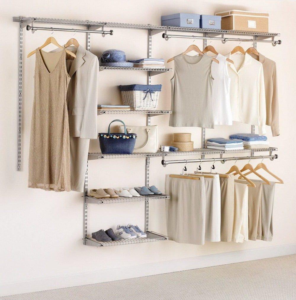 Garderobe selber bauen aus Metall