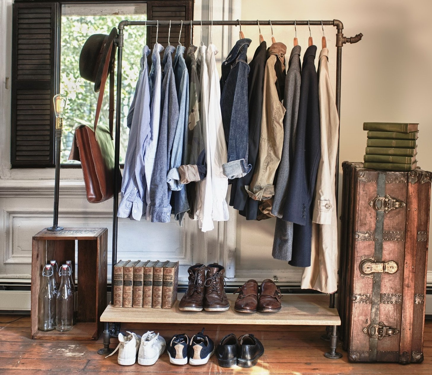 Garderobe vintage für mehr Stil