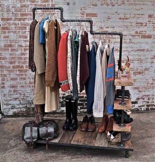 DIY Garderobe zum selber machen
