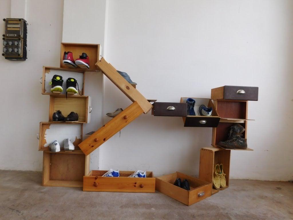 Schubladen-Garderobe