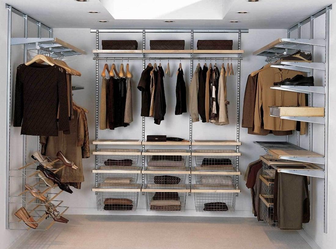 Garderobe selber bauen - begehbare Garderobe