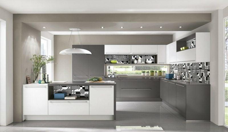 Küche Grau moderne Einrichtung