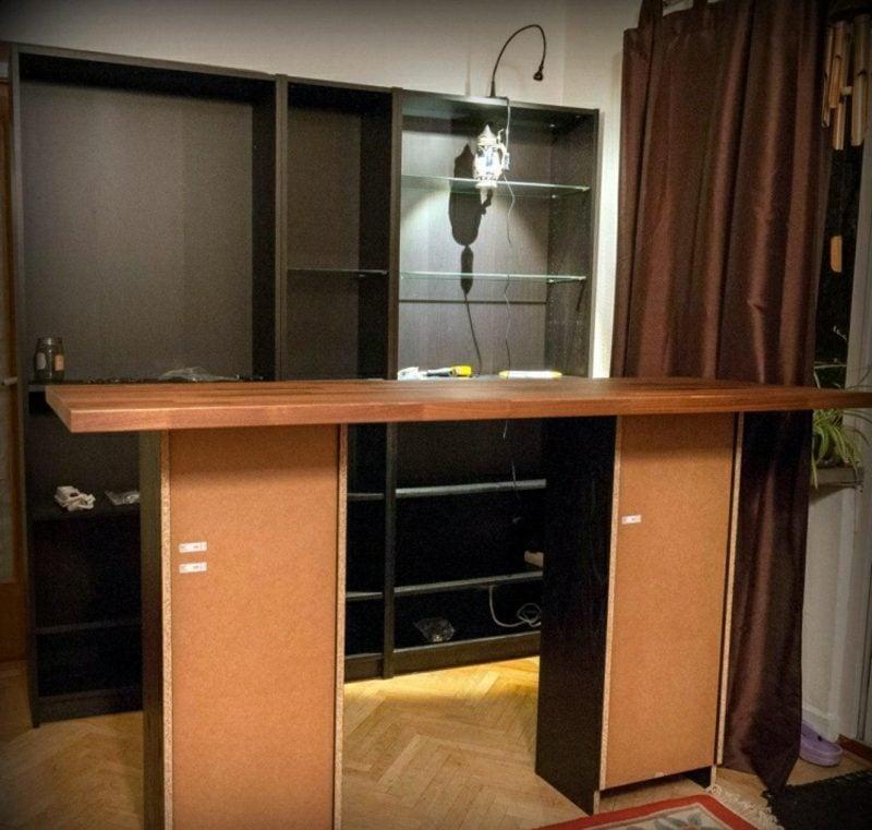 k che selber bauen tipps und ideen f r die kleine wohnung. Black Bedroom Furniture Sets. Home Design Ideas