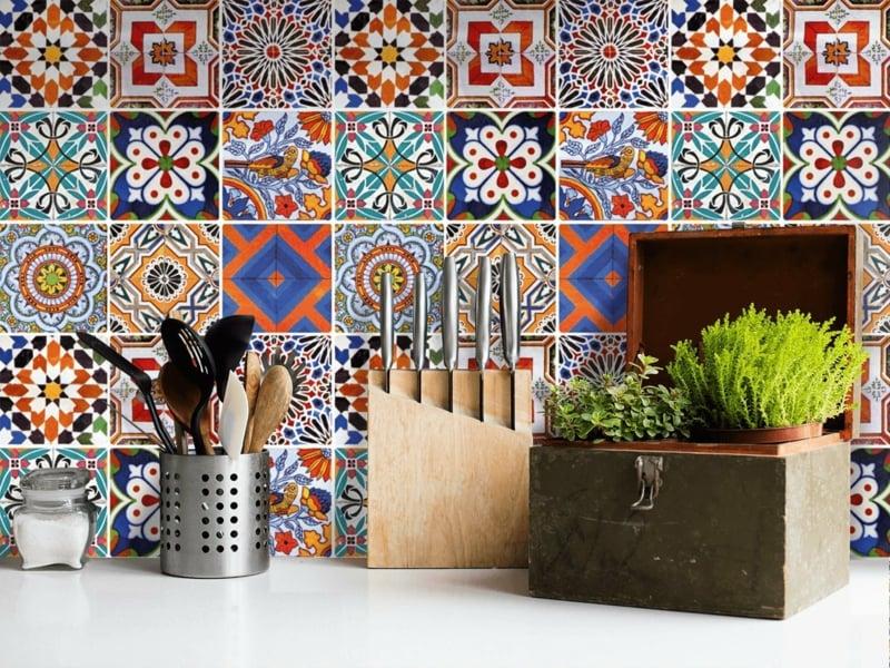 Küchenkacheln überkleben das bad und die küche effektvoll renovieren fliesen überkleben