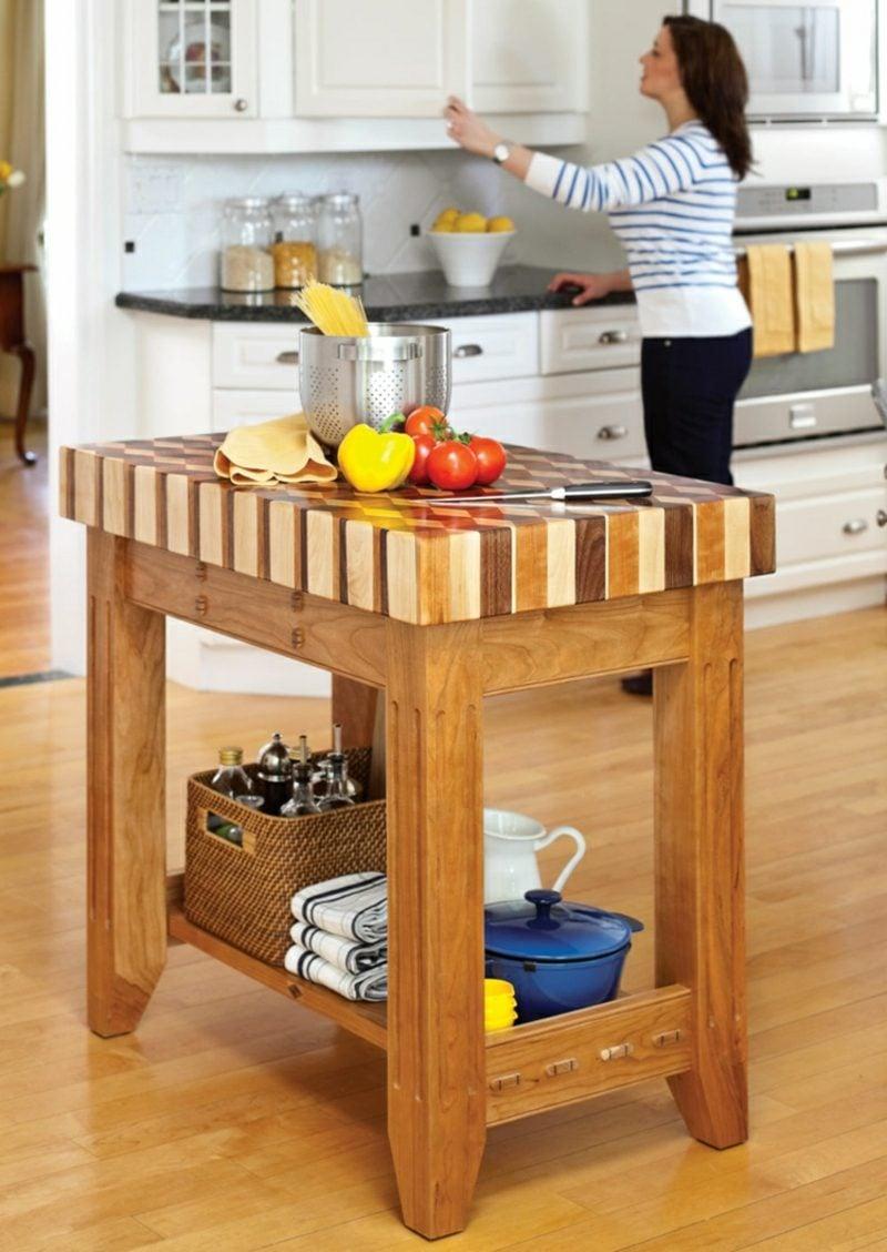 DIY Küche Kücheninsel bauen
