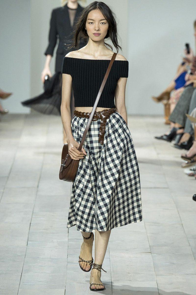Modetrends 2016 Herbst Karo Rock Vichy Karo