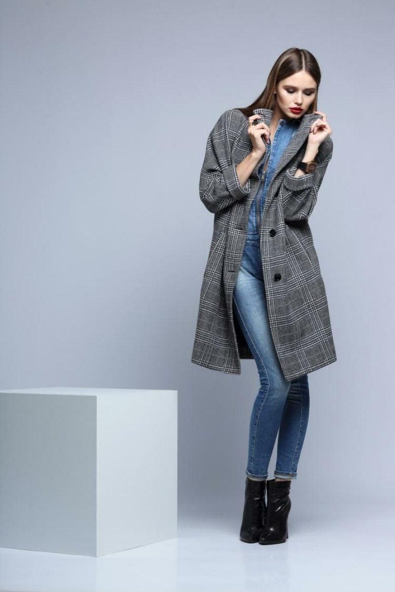 Karomuster angesagt Modetrends Winter