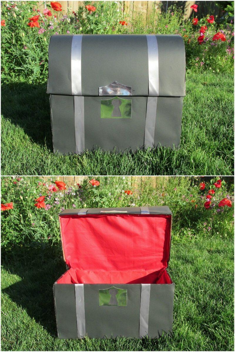 schatzkiste basteln machen sie den kindern freude mit unseren ideen. Black Bedroom Furniture Sets. Home Design Ideas