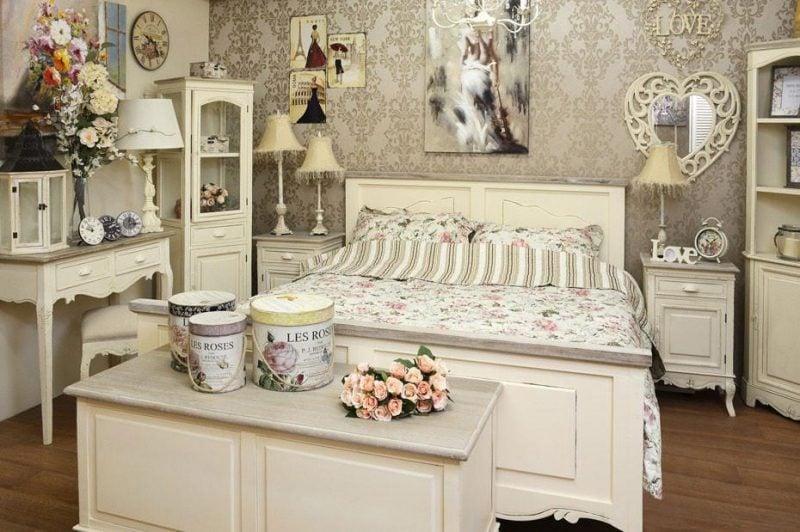 Vintage Möbel selber machen Schlafzimmer Shabby Look