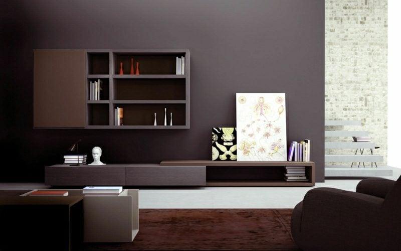 Grautöne im Wohnzimmer moderne Ideen