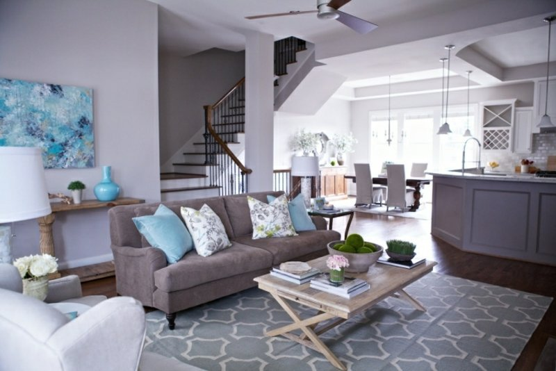 wandfarbe grau f r eine harmonische und moderne wandgestaltung. Black Bedroom Furniture Sets. Home Design Ideas