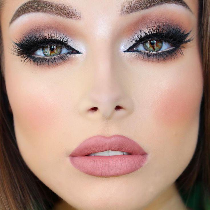 TOP Trend 2017/2018 Make-up ist Braun Schminken