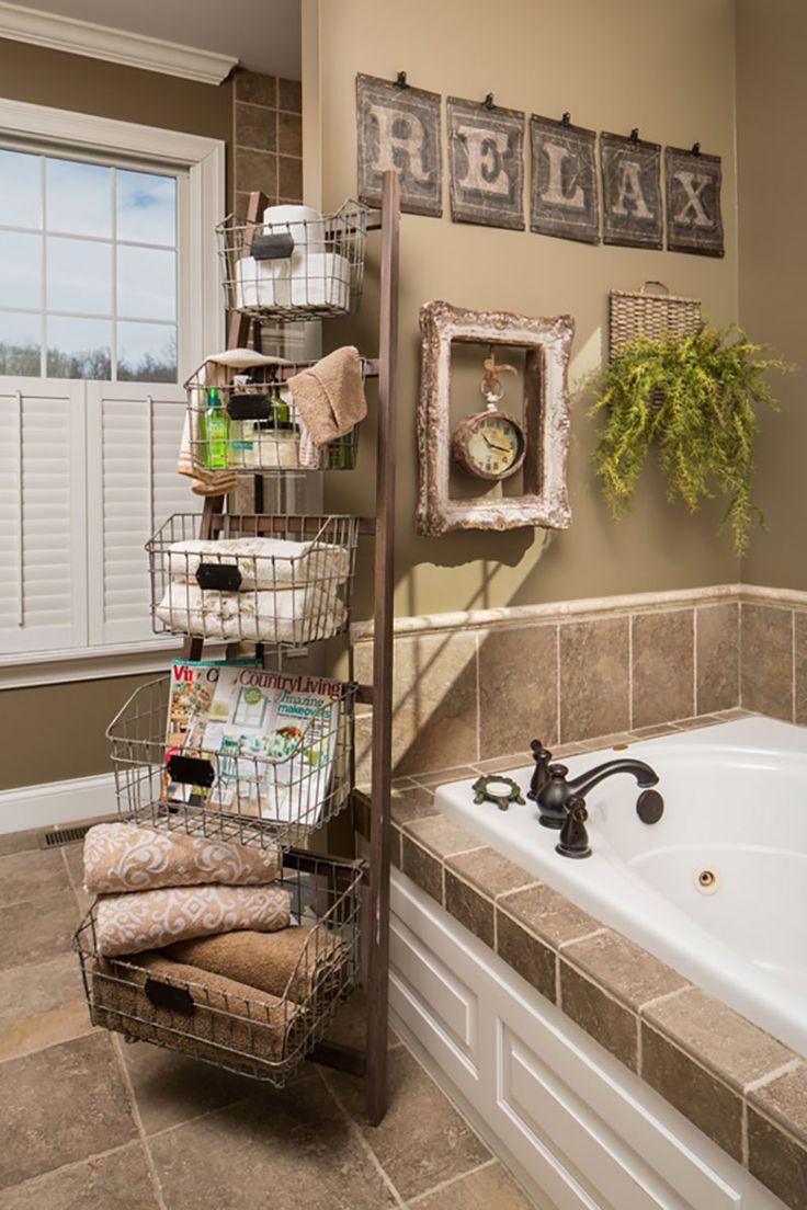 Rustik im Bad - die perfekte Lösung für die Badezimmer Deko
