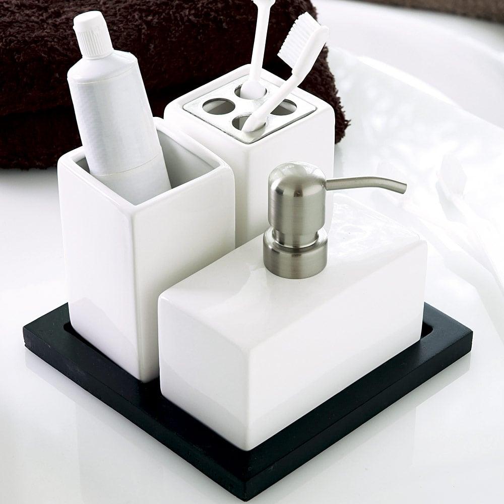 In den Einzelheiten liegt das Geheimnis für das Verwandeln des Badezimmers in eine echte Wohlfühloase.