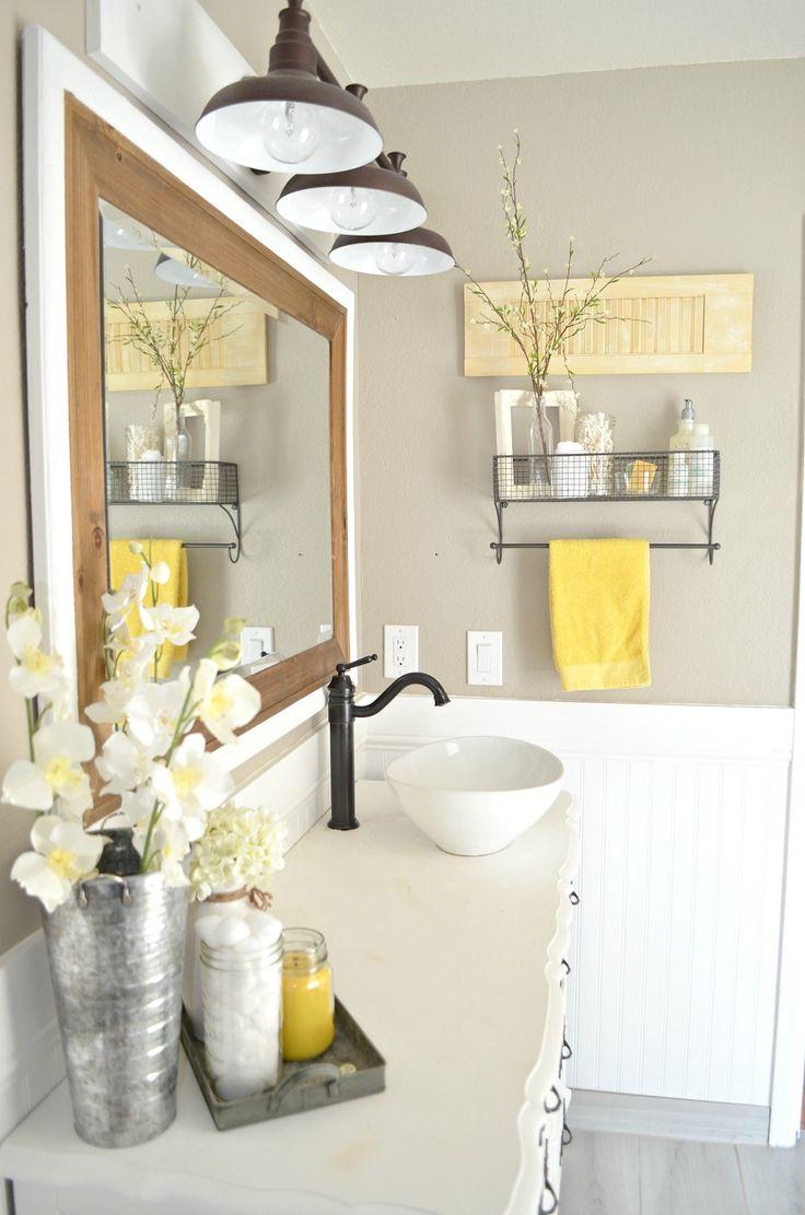 3 goldene tipps f r die richtige badezimmer deko for Bad deko ideen
