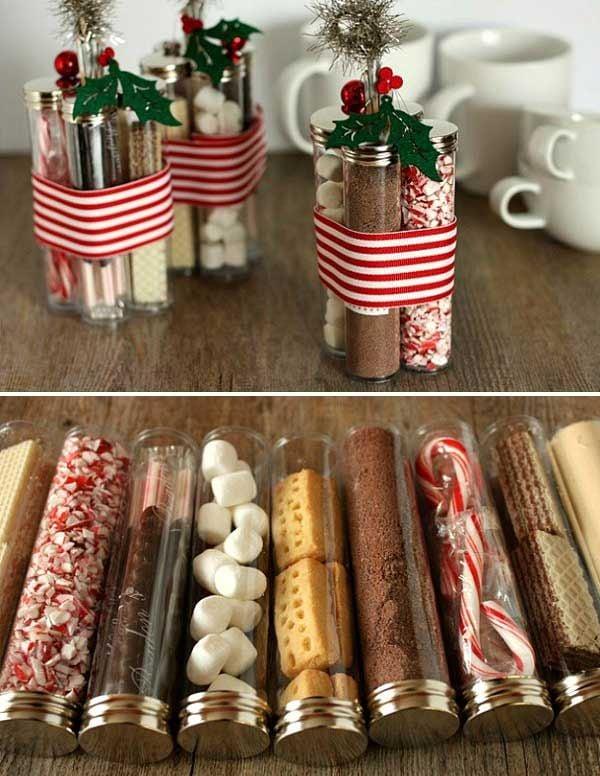 Das Weihnachtsbasteln war niemals so süß!