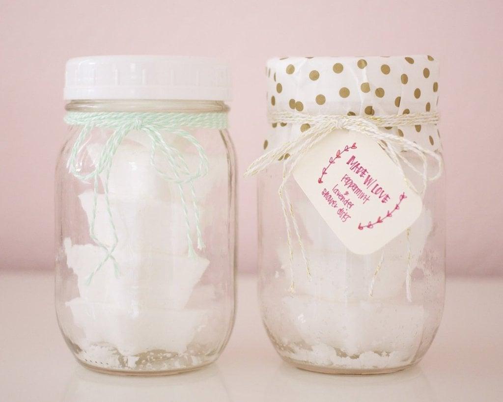 DIY Ideen - Kerzen im Marmeladenglas schenken