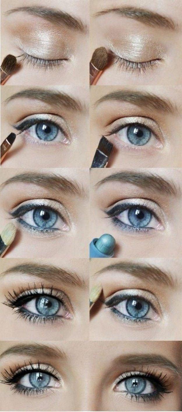 Schminktipps für blaue Augen