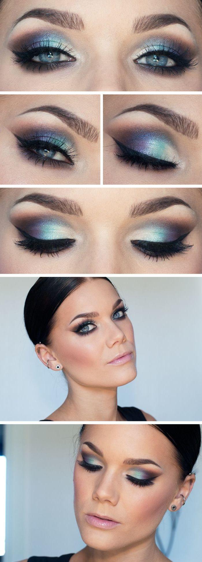 Blaue Augen Makeup Ideen