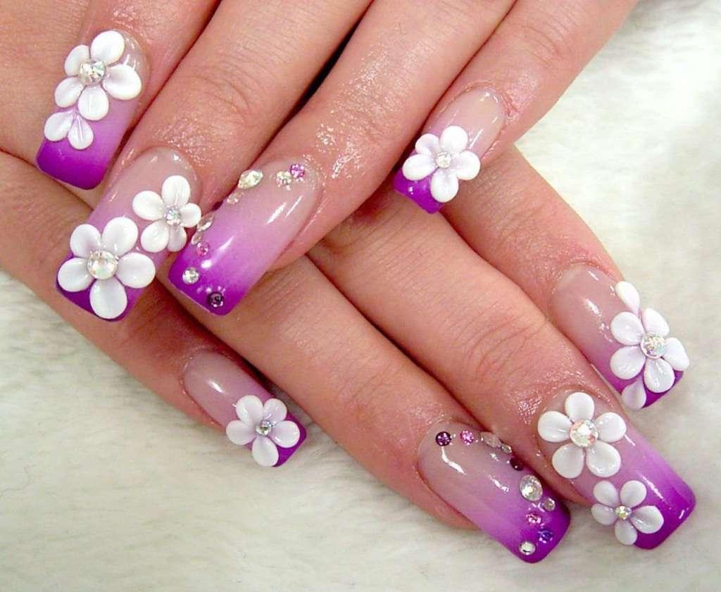 Blumendesingn - einen Garten auf die Nägel