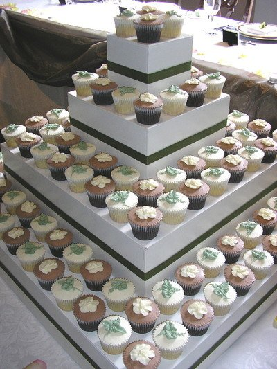 Cupcake Etagere selbstgemacht