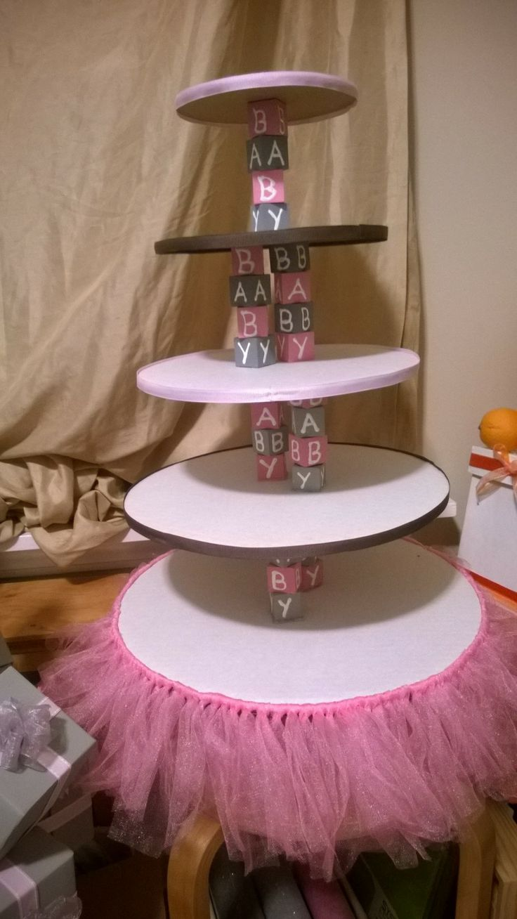 Babygirl-Party-Etagere
