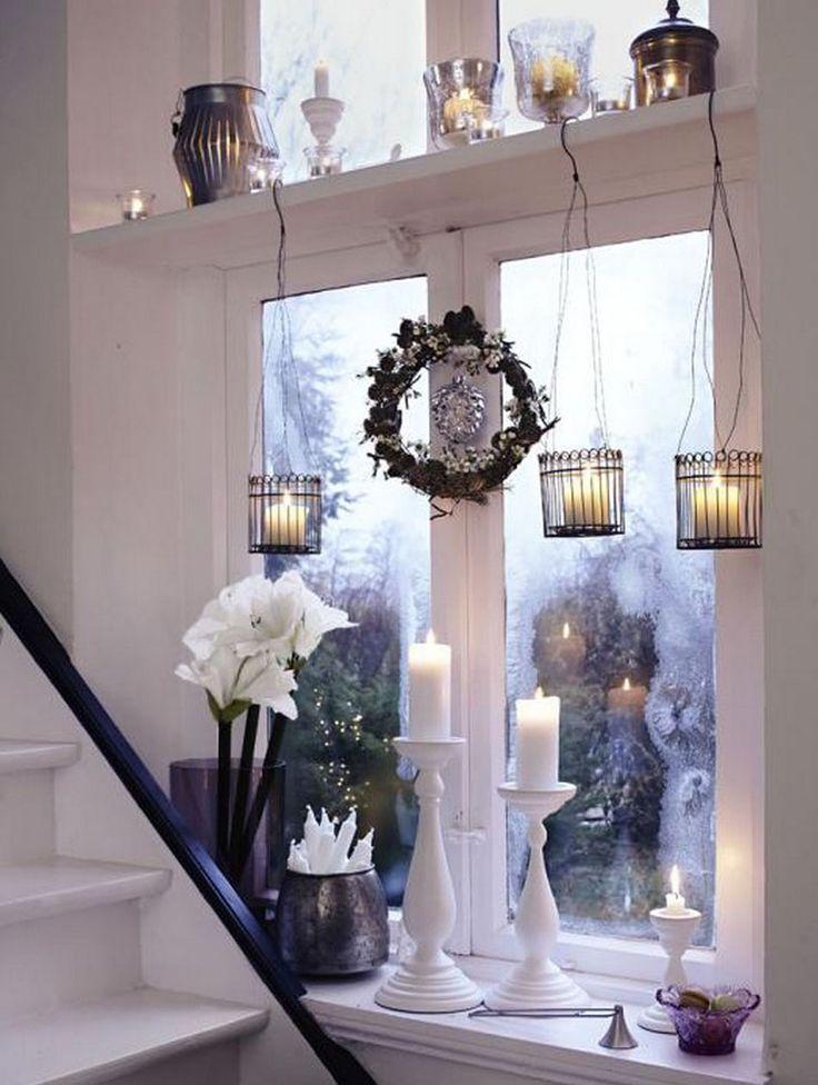 Haben Sie ein großes Fenster zu Hause? Dann haben wie die perfekte weihnachtliche Fensterdeko.