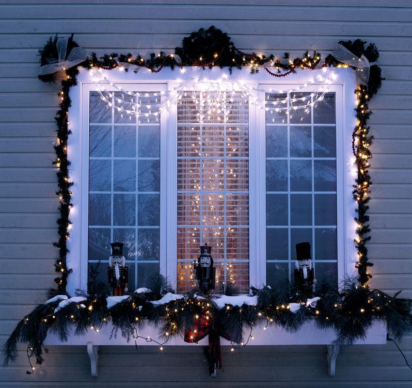 Viele coole Ideen für Fenster Deko für draußen