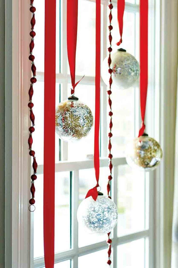 Tolle Ideen für Fenster Deko für Weihnachten