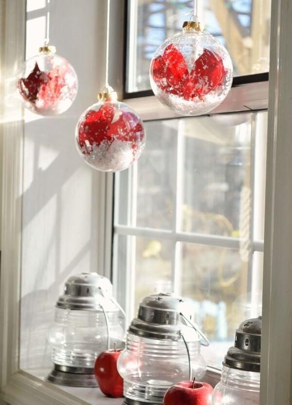 Weihnachtliche Deko Fensterbank - tolle Ideen und Anleitungen
