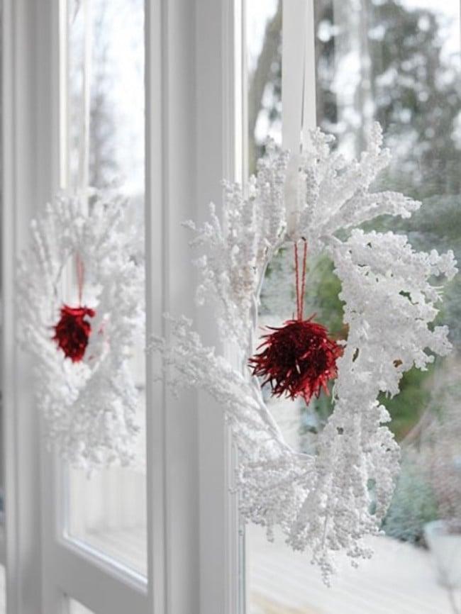 Ideen für Fenster Deko in Scandinavien Stil
