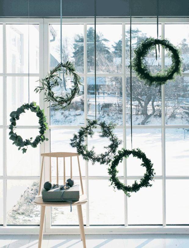 Sind Sie ein Fan des Weihnachtskranzes, dann richtet diese Idee an Sie.