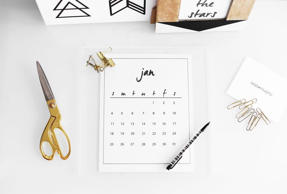 Mit Hilfe von unserer Anleitung können Sie einen Kalender selbst gestalten!