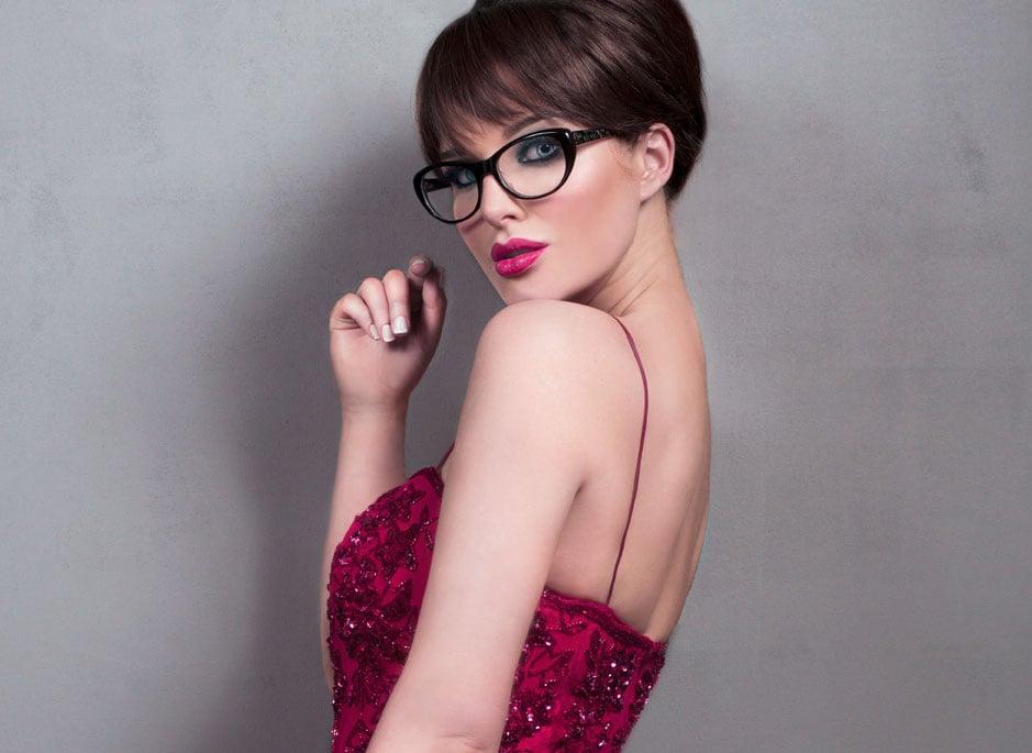 Kurzhaarfrisuren 2016 mit Brille