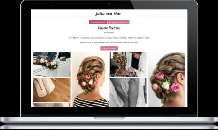 Hochzeitshomepage Ideen