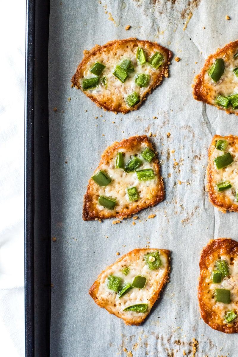 Parmesan Chips - Rezept und Schritt für Schritt Zubereitung