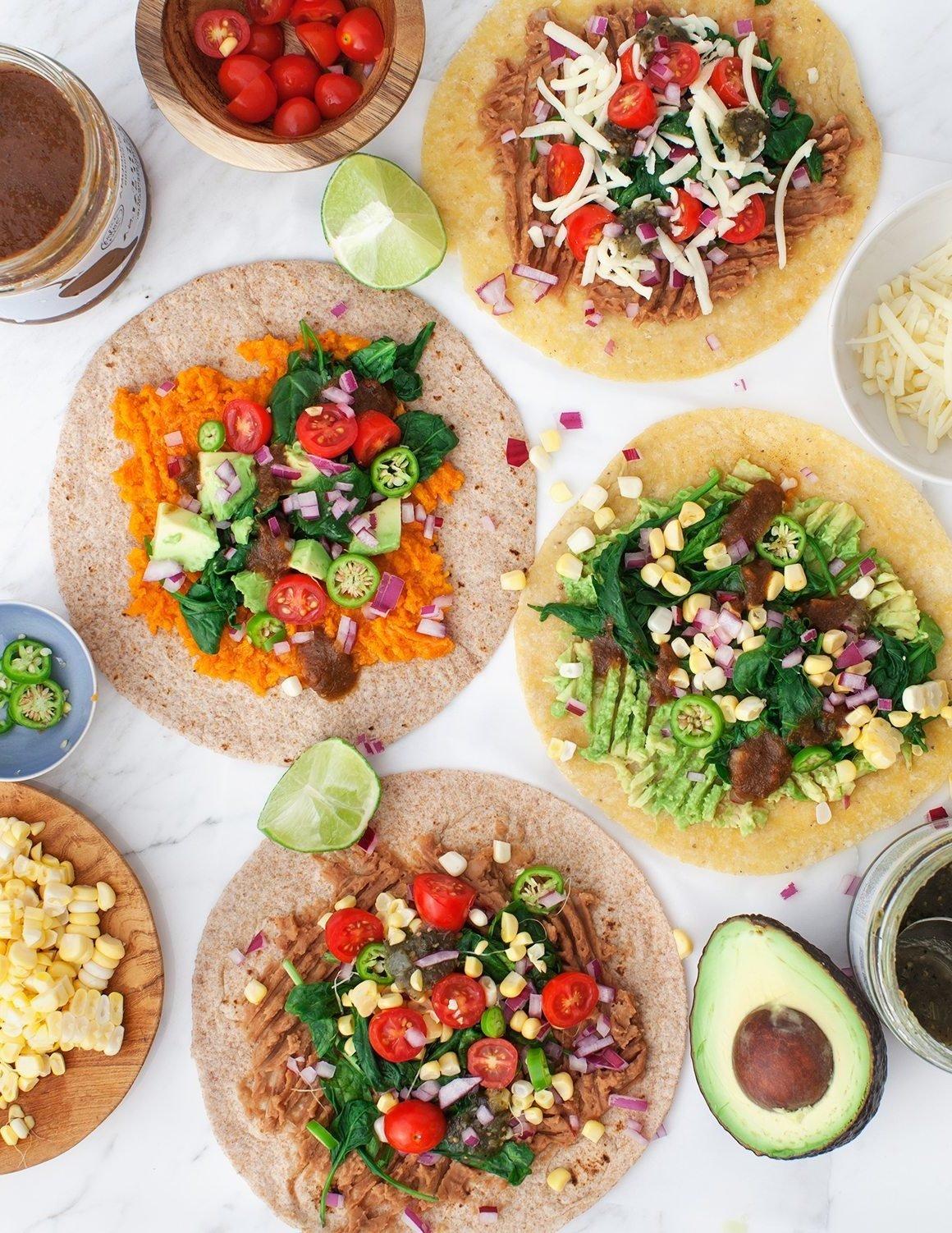 Geiles Essen - Vegane Tortillas