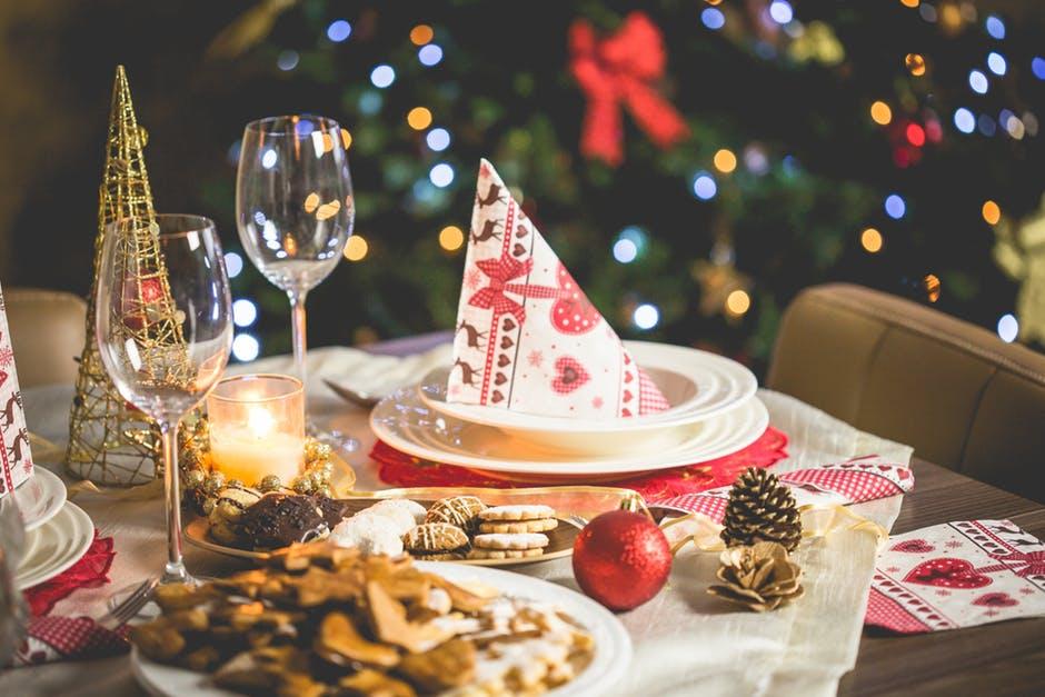 Weihnachtsessen Ideen mit Kalorientabelle