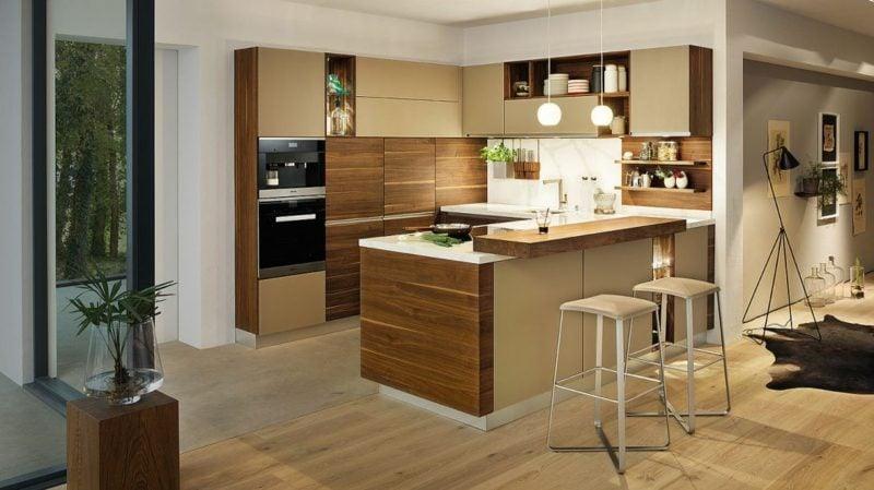 Küche selber bauen herrliche Kücheninsel